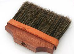 "8"" Upright Mahogany Block Boar Sign Brush"