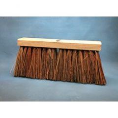 "Broom 16"" Street African Bassine Blend 6.25"" trim"
