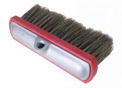"Car Wash Brush 10"" Flow Thru Alum. Block Boar Hair"