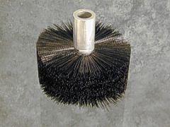 """Duct Brush 6"""" Diameter flow through design"""