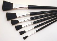 """Lacquer Brush Camel Hair  3/4"""""""