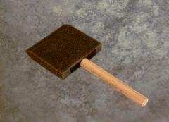 "Foam Brushes3"" Wood Handle CASE of 400"