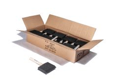 "Foam Brushes 3"" Wood Handle Box of 40"