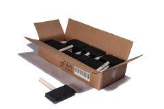 "Foam Brushes 4"" Wood Handle Box of 30"
