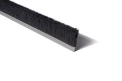 "Strip Brush 72"" x 2"" OAH .014 Black Cr Nylon"