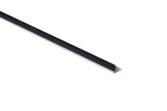 "Strip Brush 72"" x  .5"" OAH .006 Black Cr Nylon"