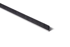 "Strip Brush 36"" x .88"" OAH .006 Black Level Poly"