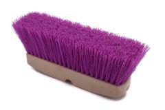 "Truck Wash Brush Purple Poly 3"" TRIM"