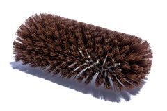 "Tank Brush Epoxy Set Brown Poly 6"" dia. x 12"""