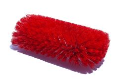 "Tank Brush Epoxy Set Red Nylon 6"" dia. x 12"""