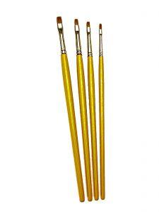 Pastry Artist Brush Set 4 Brushes