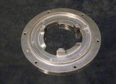 "Clutch Plate 5"" Center Hole Hild Wood Back"