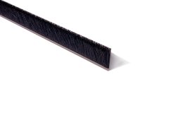 "Strip Brush 36"" x 1.5"" OAH .010 Black Cr Nylon"